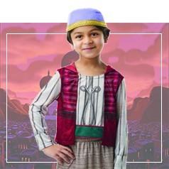 Disfraces de Aladdin para Niño