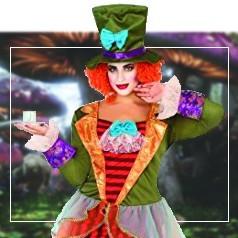 Disfraces Sombrerero Loco Mujer
