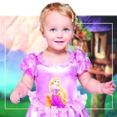 Disfraces Rapunzel Bebé
