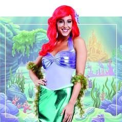 Disfraces de Sirenita para Mujer