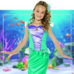 Disfraces de Sirenita para Niña
