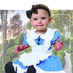 Disfraces de Alicia para Bebé