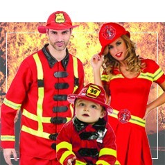 Disfraces de Profesiones en Familia