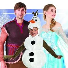 Disfraces de Disney en Familia