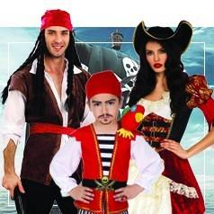 Disfraces de Pirata en Familia