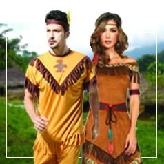 Disfraces de Indígena