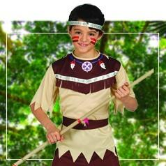 Disfraces de Indígena para Niño