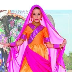 Disfraces de Culturas y Países para Niña