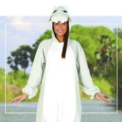 Disfraces Pijama Hipopótamo