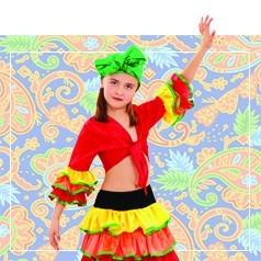 Disfraces Caribeños Infantiles