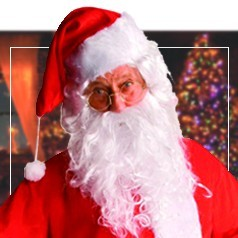 Gafas de Papa Noel