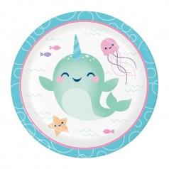 Cumpleaños Unicornio Ballena