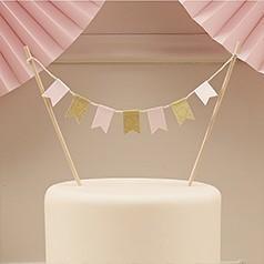 Banderines Tarta Cumpleaños