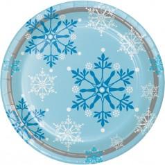Cumpleaños Frozen Copos de Nieve
