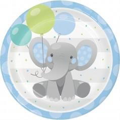Cumpleaños Elefantito Azul