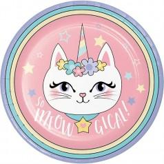 Cumpleaños Unicornio Gatito