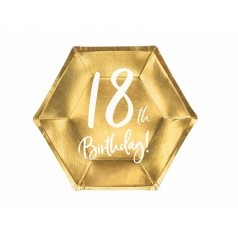 Cumpleaños 18 Dorado
