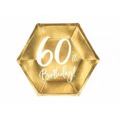 Cumpleaños 60 Dorado