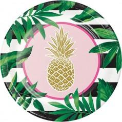 Fiesta Pineapple Wedding