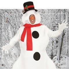 Disfraces de Muñeco de Nieve