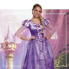 Disfraces de Rapunzel
