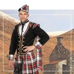 Disfraces de Escocés