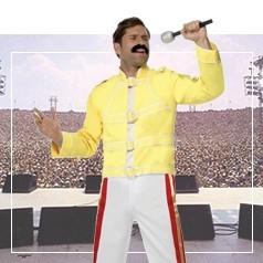 Disfraces de Freddie Mercury