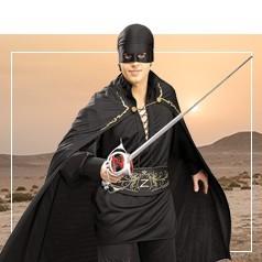 Disfraces del Zorro