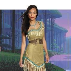 Disfraces de Pocahontas