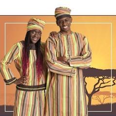 Disfraces de Africano