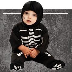 Disfraces de Esqueleto para Bebé