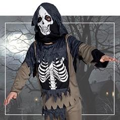 Disfraces de Esqueleto para Niño