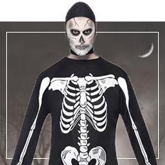 Disfraces de Esqueleto para Hombre
