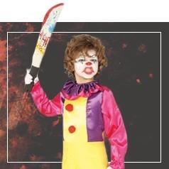 Disfraces de Payaso Asesino para Niña