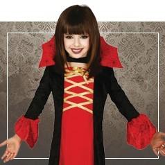 Disfraces de Vampiresa para Niña