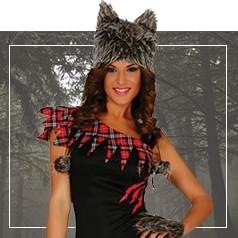 Disfraces de Hombre Lobo para Mujer