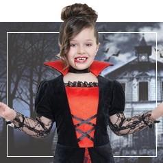 Disfraces de Drácula para Niña