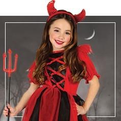 Disfraces de Diabla para Niña
