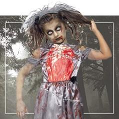 Disfraces de Zombie para Niña
