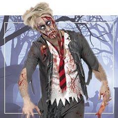 Disfraces de Zombie para Hombre