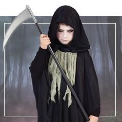 Disfraces de la Muerte para Niña