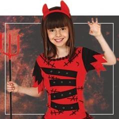 Disfraces de Demonio para Niña