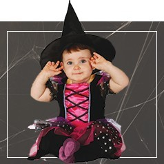 Disfraces de Bruja para Bebé