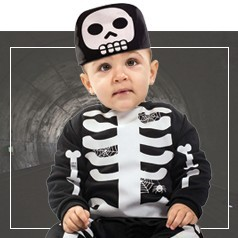 Disfraces de Calavera para Bebé
