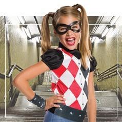 Disfraces de Harley Quinn para Niña