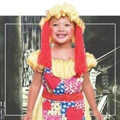 Disfraces de Muñeca de Trapo para Niña