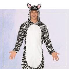 Disfraces Pijama Cebra
