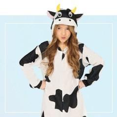Disfraces Pijama Vaca