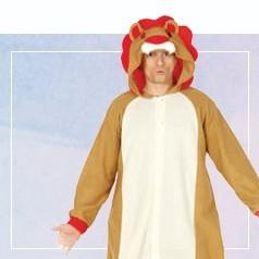 Disfraces Pijama León