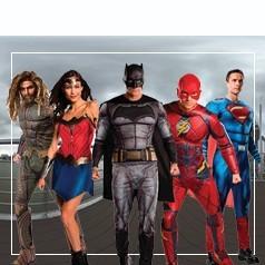 Disfraces de La Liga de La Justicia